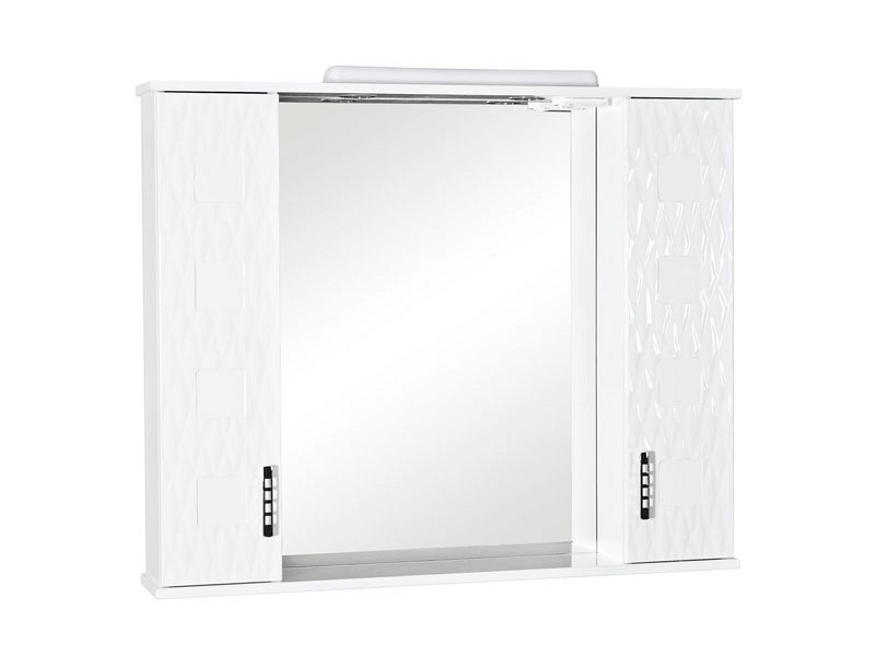 Зеркало AQUARODOS Ассоль 100 см с подсветкой и двумя пеналами