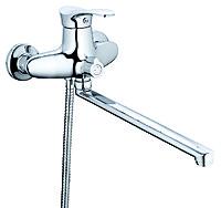 Смеситель для ванны ZEGOR NPO-А071, L=350