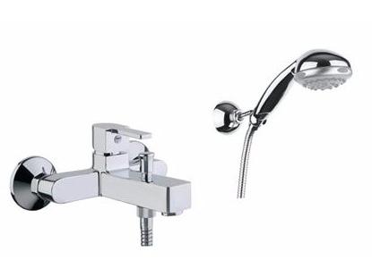 Смеситель для ванны SANTAN KALOS 76CR7450 с душевым гарнитуром
