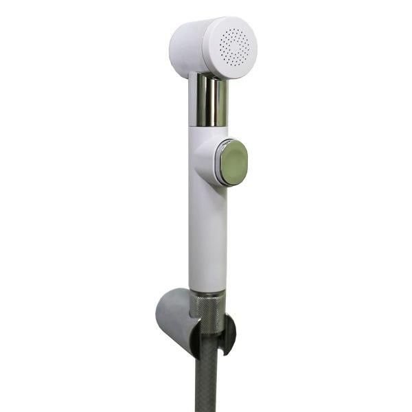 Лейка для биде SANTAN AIDA+шланг PVC 120+держатель (Wh/Cr) 30 B269 C