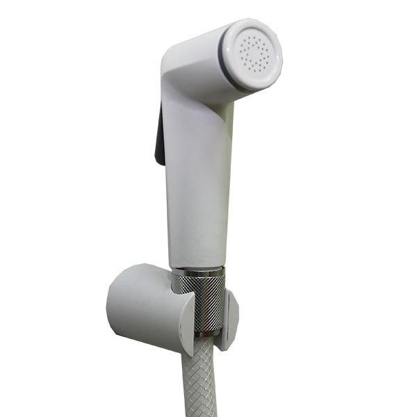 Лейка для биде SANTAN COBRA+шлангPVC 120+держатель (white) 30 0269 05