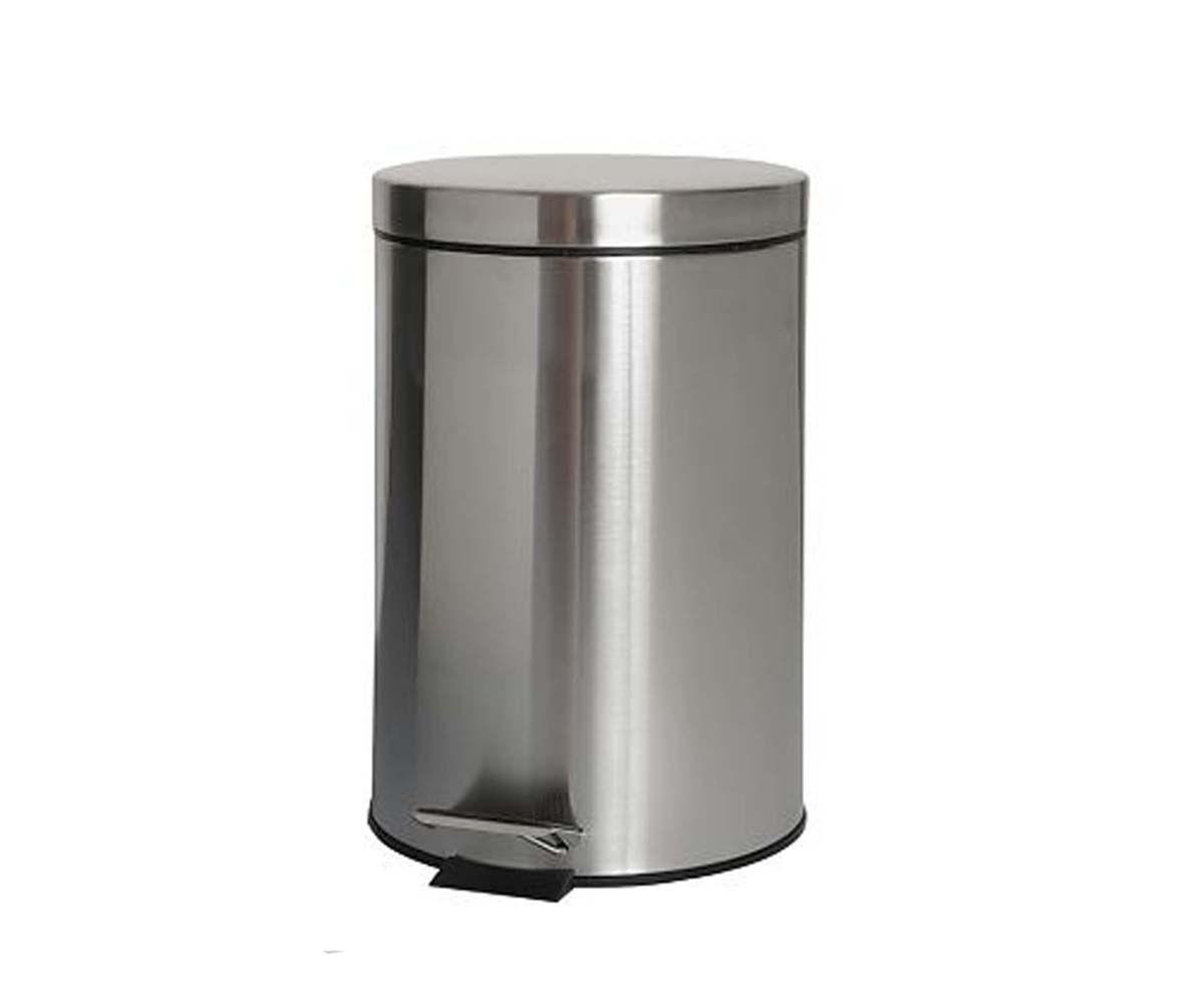 Ведро для мусора BISK 3 л, хром (00125)