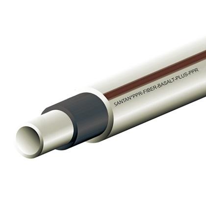 PPR труба SANTAN Basalt 20 мм