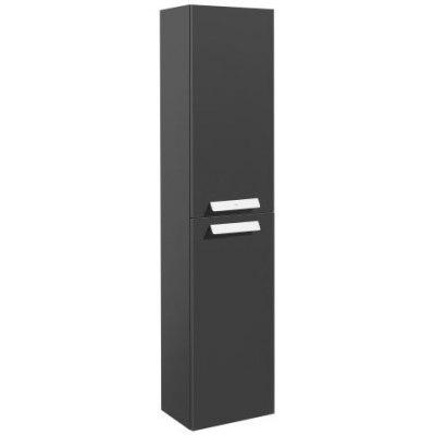 Пенал ROCA Debba, 150 см, серый антрацит глянец (A856844153)