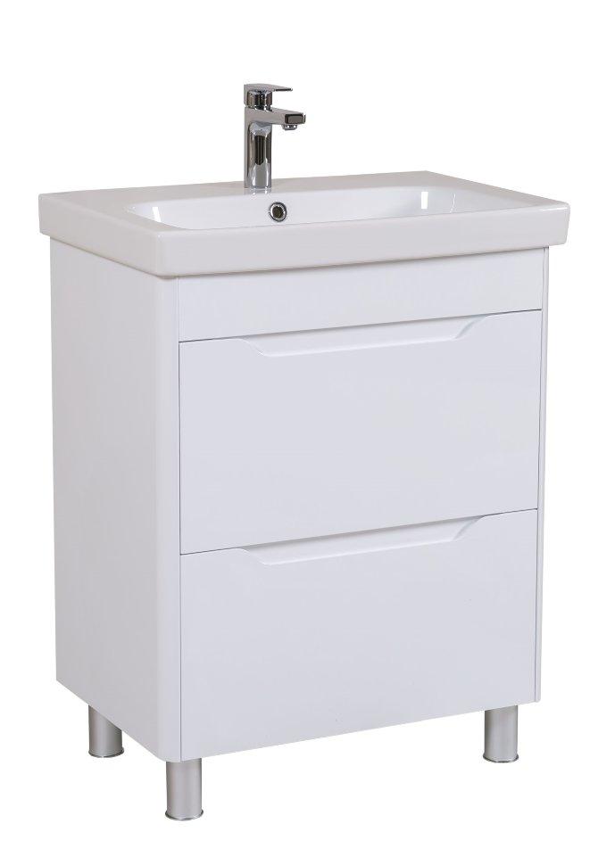 КОМПЛЕКТ: Шкафчик Aquarodos Рома с умывальником Roma 65 см
