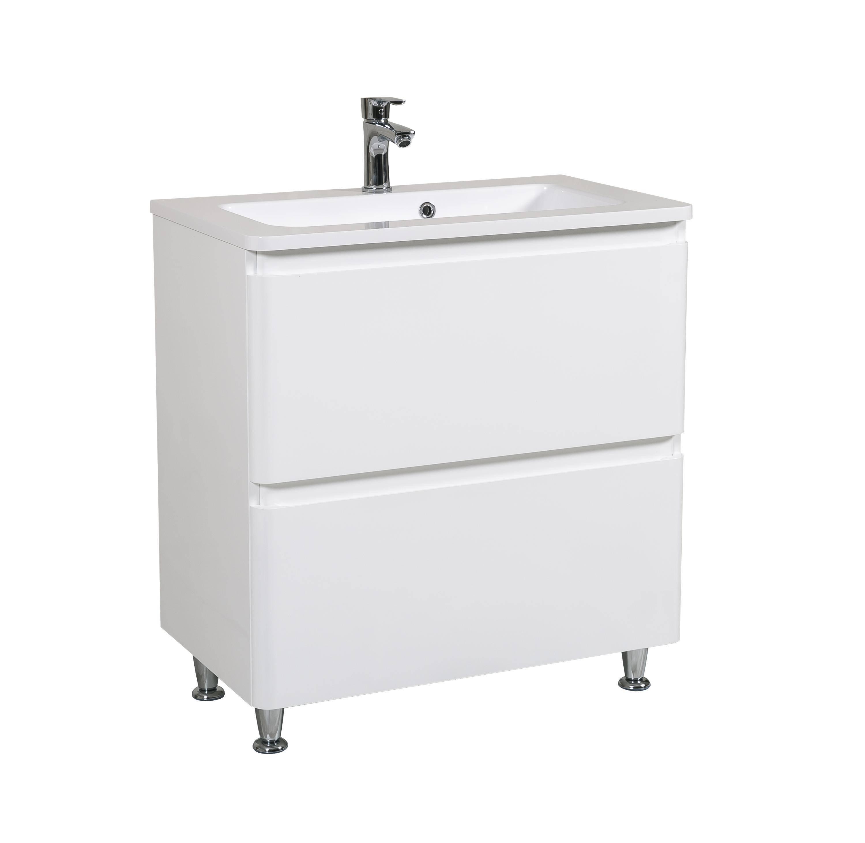 Мебель Aquarodos Акцент с умывальником Альфа 80 см (напольная)
