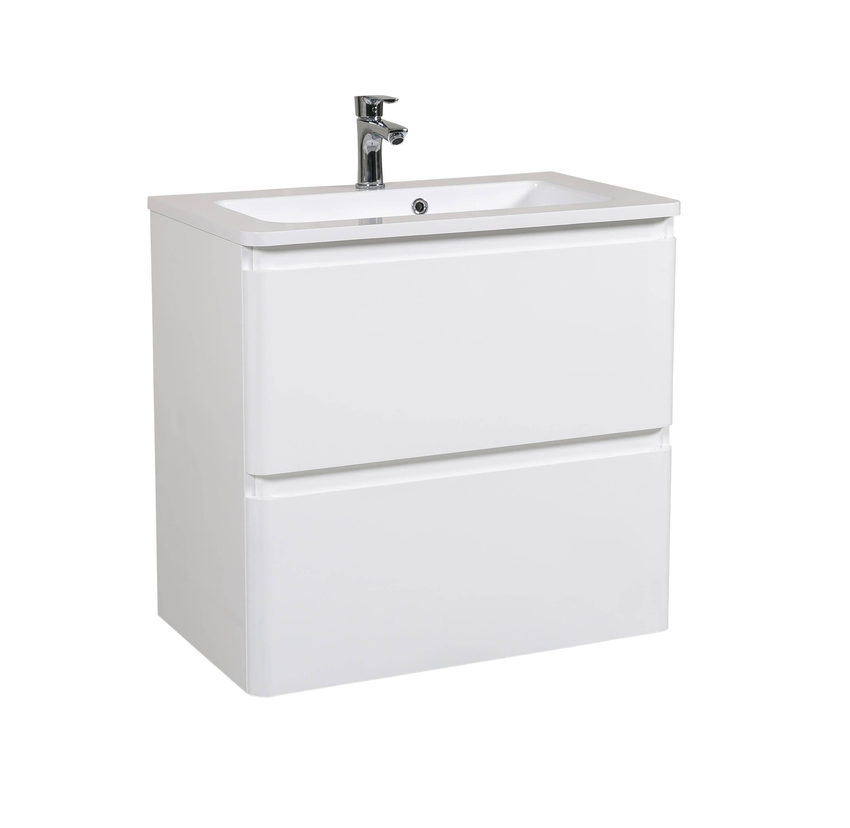 Мебель Aquarodos Акцент с умывальником Альфа 80 см (консольная)