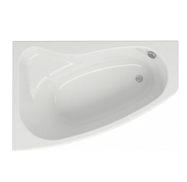 Ванна акриловая CERSANIT SICILIA NEW 150х100 L + ножки Тип 1