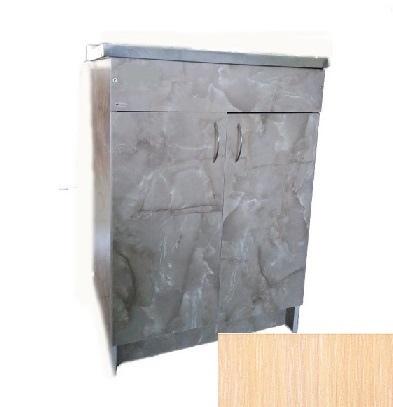 Шкафчик под мойку 60х50 дуб молочный