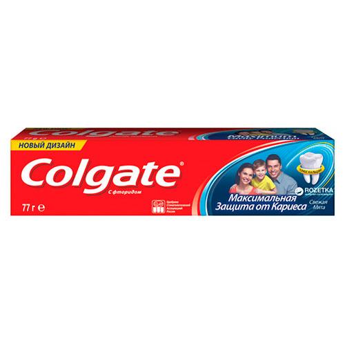 Зубная паста Colgate 50 мл Максимальная защита от кариеса, Свежая мята