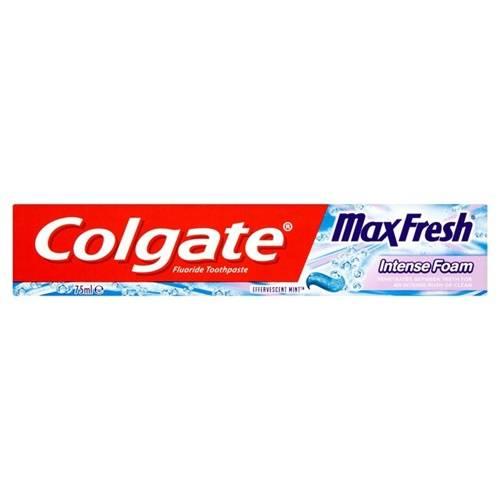 Зубная паста Colgate 125мл Max Fresh Intens Foam (0855)
