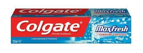 Зубная паста Colgate 125мл Max Fresh Cooling Crystals (2161)