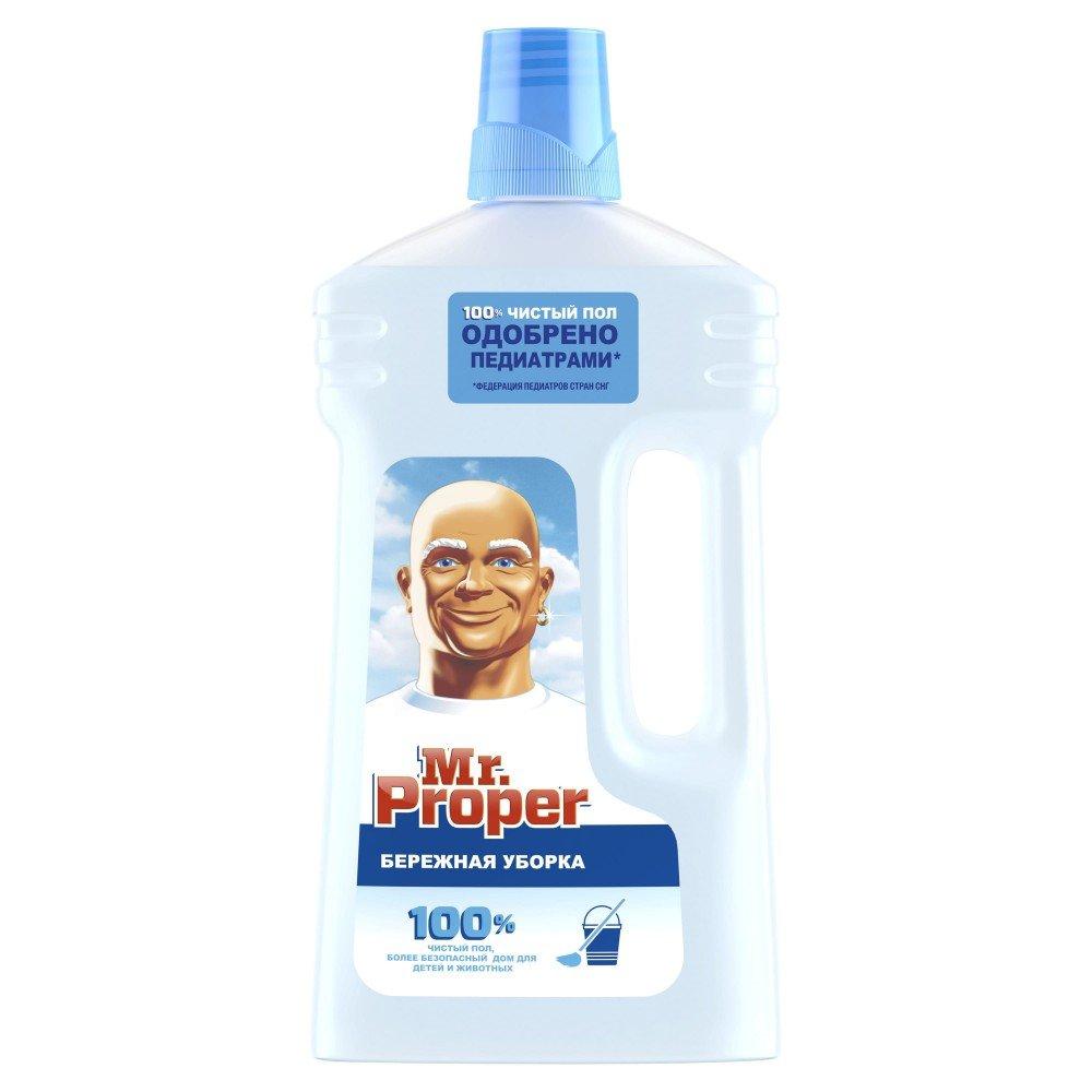 Универсальное моющее средство Mr.Proper 1л, Бережная уборка