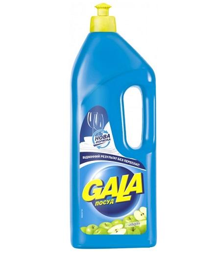 Жидкое средство для мытья посуды GALA Яблоко, 1 л