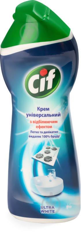 Чистящее средство Cif Ультра Уайт, 250 мл