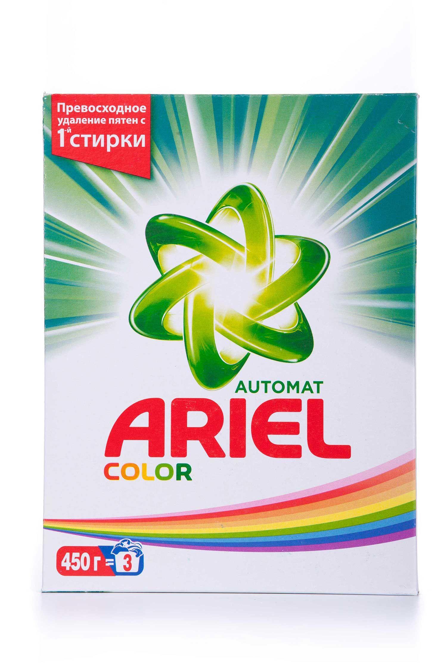 Стиральный порошок ARIEL 450 г Color