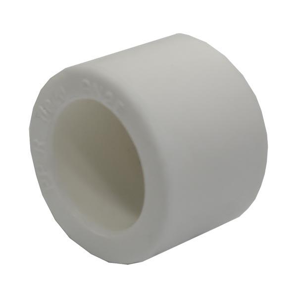 Заглушка PP-R SANTAN 25 мм белая
