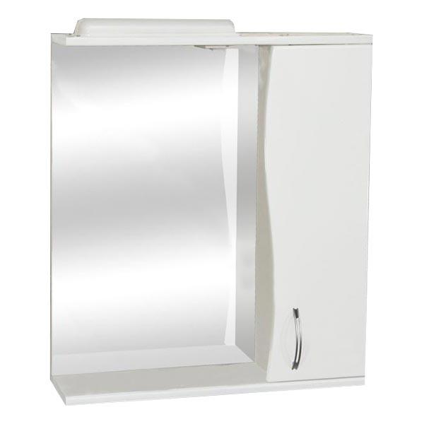 Зеркало WIANGI фигурное левое 55 белое