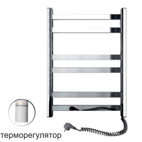 Полотенцесушитель электрический SANTAN Лестница Авангард 480х600 нерж., правосторонний, с терморегулятором