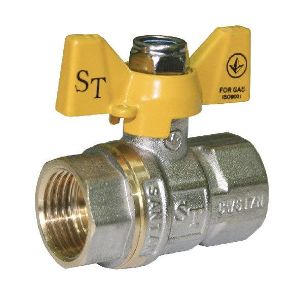 Кран шаровый SANTAN Professional 602, ВВ ЖБ 1