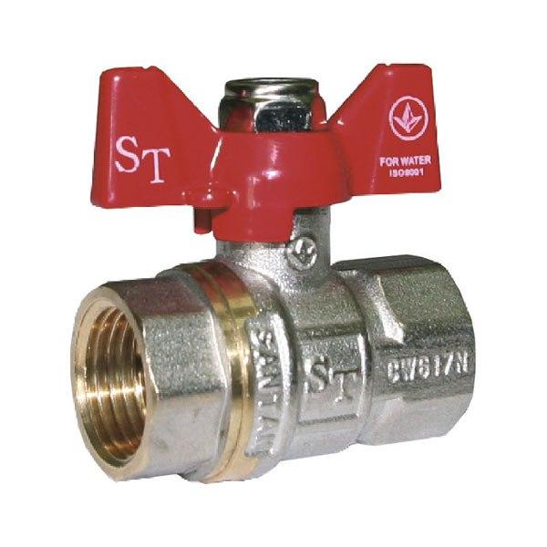 Кран шаровый SANTAN Professional 602, ВВ КБ 1