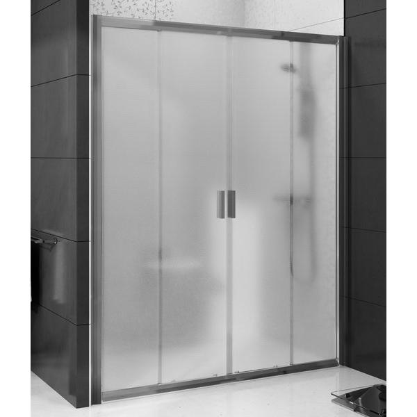 Душевая дверь RAVAK BLDP 4-180, полированный алюминий, стекло Transparent (0YVY0C00Z1)