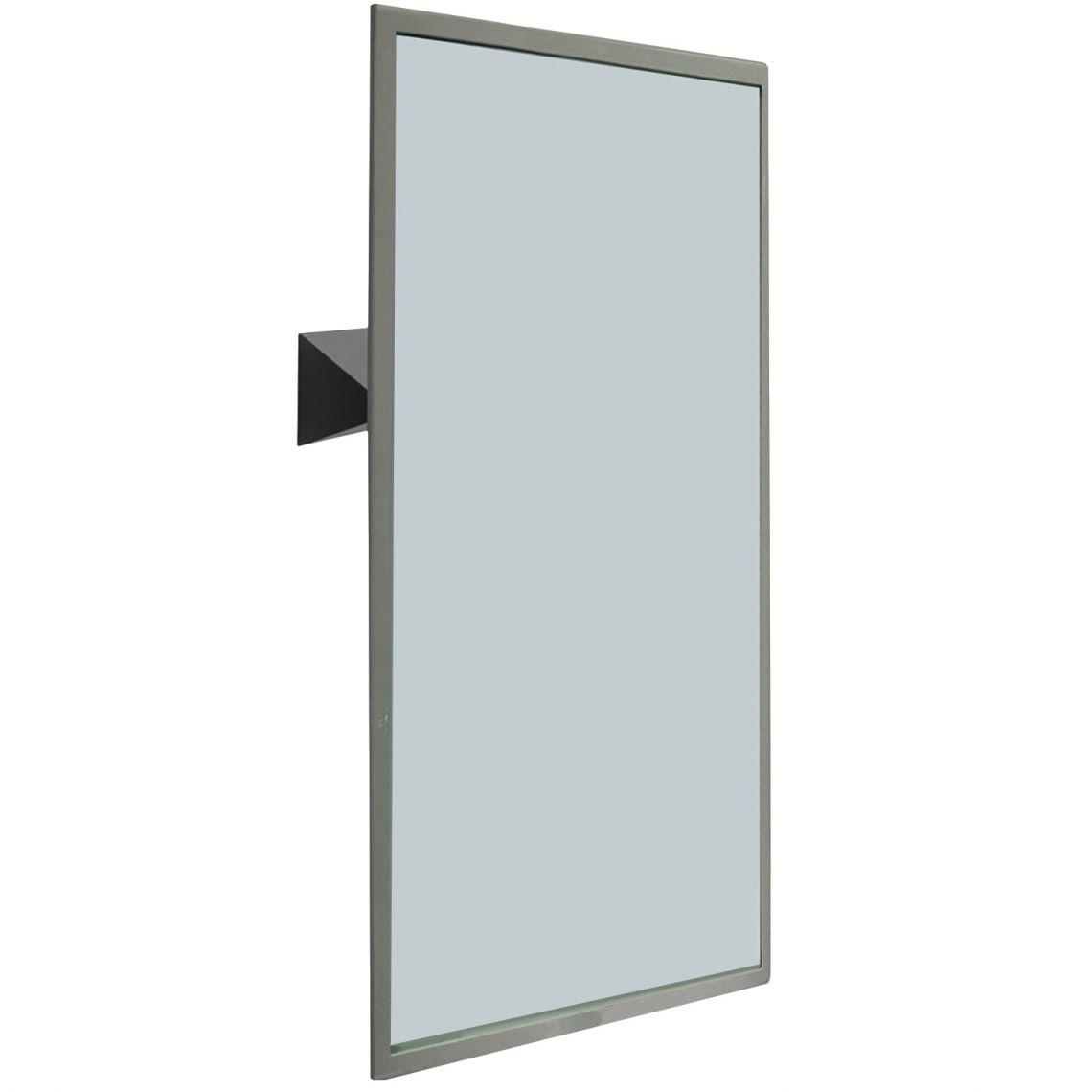 Зеркало откидное NOFER для людей с инвалидностью 70x50 см, Satin (08023.S)